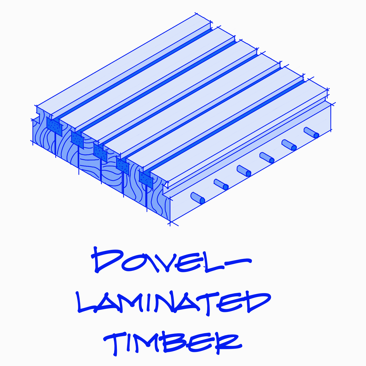 Dowel-Laminated Timber