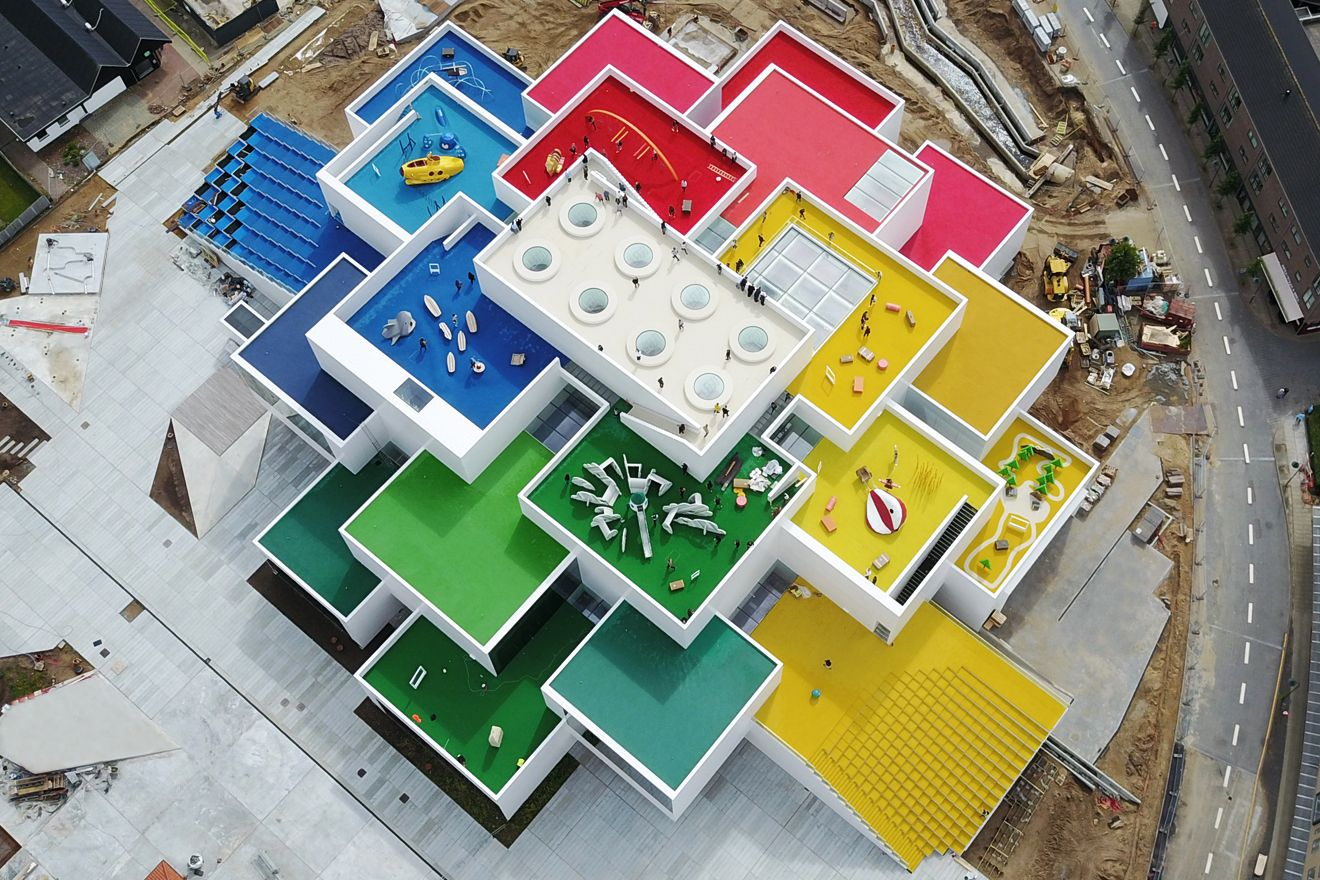 LEGO House - Image copyright BIG Architects.