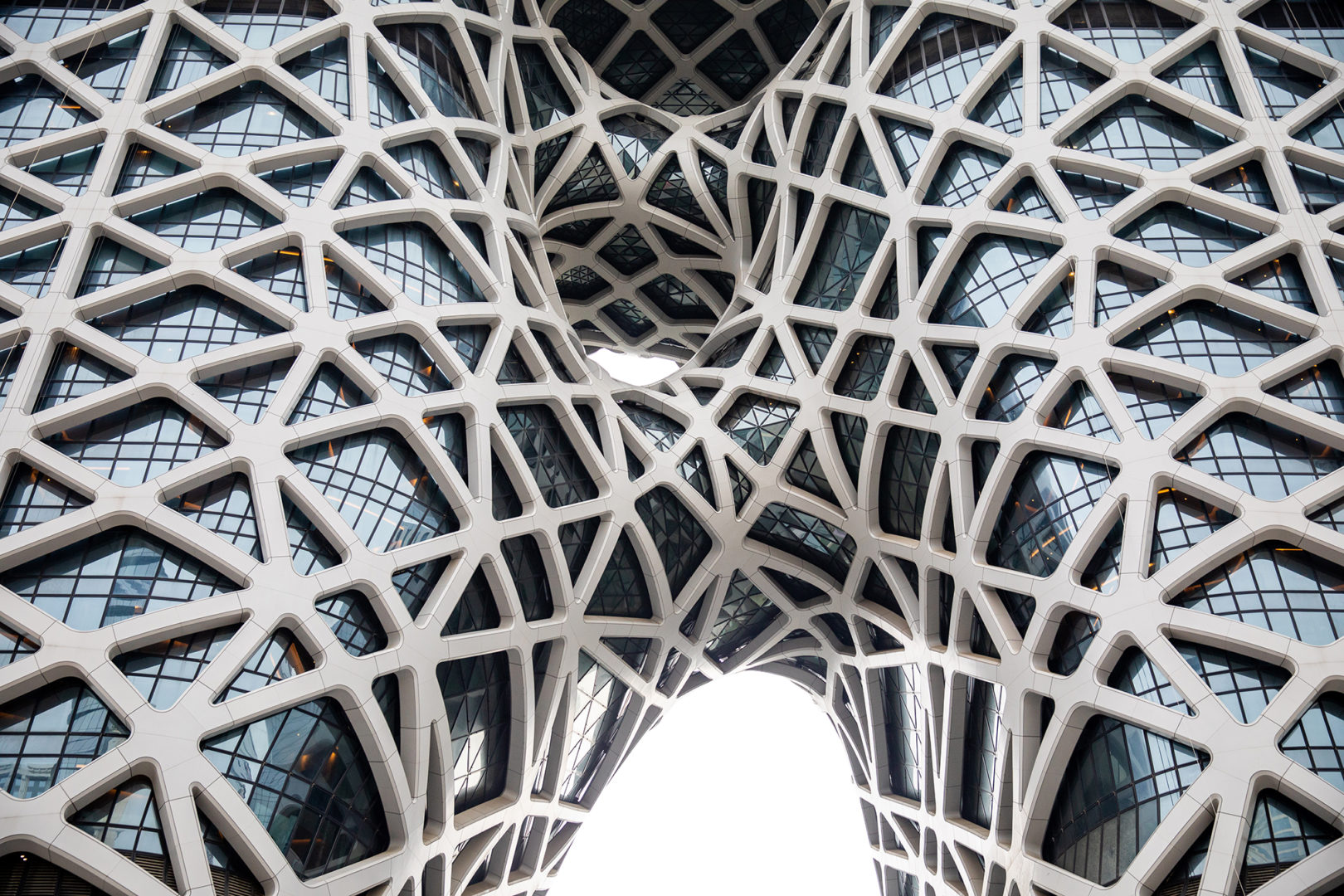 Zaha Hadid Morpheus Hotel at City of Dreams